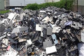india is the world s fifth largest producer of e waste study