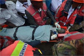 woman rescued after six days out