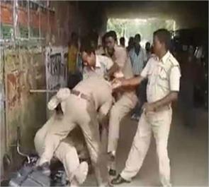 lucknow police extortion beatings