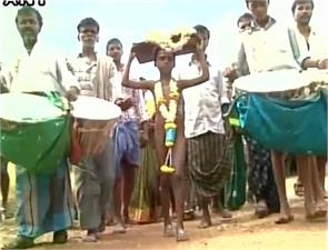 boy paraded naked to please rain god in drought hit village