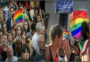 us parades celebrate gay pride honor orlando victims