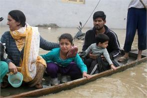 flood victims protest against govt