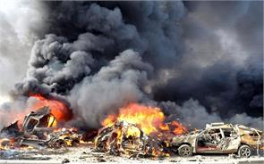twin explosions near damascus kill 8 wound 13