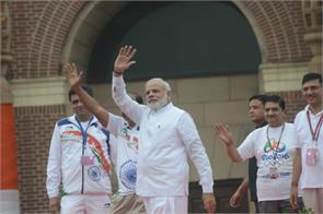 When 2020 games take place let every district have 1 athlete represent India at those games says PM