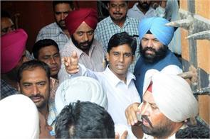 Sangrur MLA Naresh Yadav appeared in court