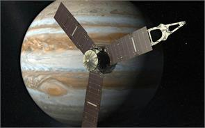 juno spacecraft arrives at giant planet