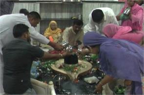 Haryana Sawan Bholenath worship Sthanuvesr Mahadev Mandir Dukbnjan Mandir