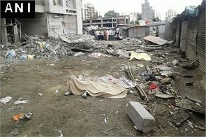 Nine people dead after part of an under construction building collapses near Pune