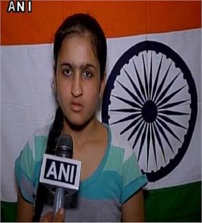 Ludhiana student Jhanvi Behal says she will hoist tricolour at Lal Chowk in Srinagar on August 15