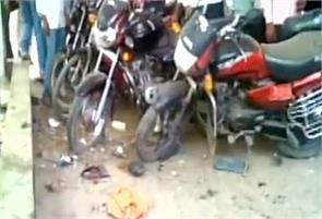 one dead in bomb blast outside sasaram court in bihar
