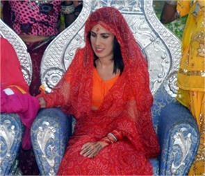 spain couple wedding in jaisalmer