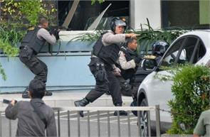 is the suicide attack on a police station in indonesia