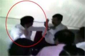 maharashtra ncp mla suresh lad slap to deputy collector