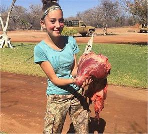 hunter girl receiving death threats