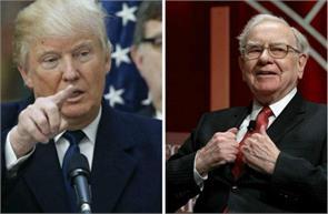 warren buffett opposing donald trump