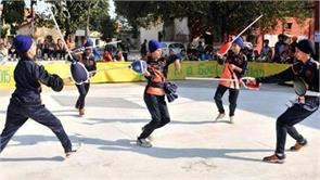 gatka a traditional martial art associated with sikhism now a national sport
