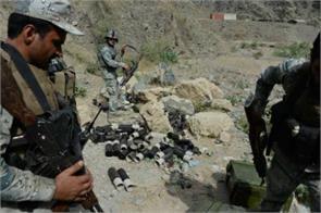 6 militants near afghan border pile
