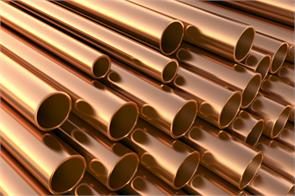 copper futures rise on spot demand