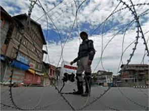 seeveral crore rupees loss in kashmir unrest