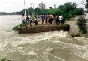 ring dam broken in bhagalpur