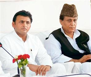 azam s controversial remarks pushed the up government akhilesh angry