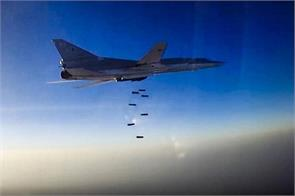 russian air raid in syria from iran is the second day