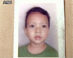 three year old boy in delhi killed by school van