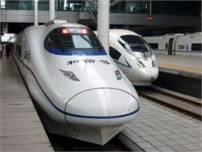 china high speed train company manufactures rail engines in india