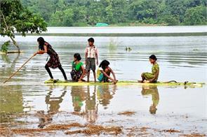 assam flood situation improves so far 34 deaths