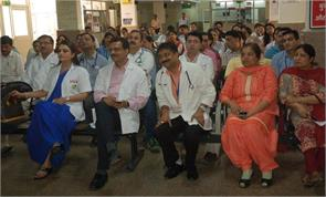 the strike by doctors to patients suffering