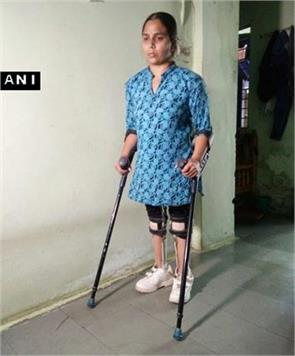 specially abled laxmi yadav writes to pm and president for euthanasia