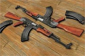 rifle snatching in kashmir from ex mla house
