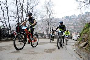 bicycle rally 12th mtb dharmshala