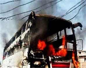 eta traumatic incident high tension wire fell on the bus killing 7 passengers