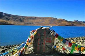 tibet lake