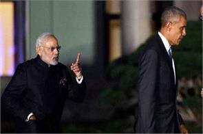 pm narendra modi and barack obama photo viral in social media