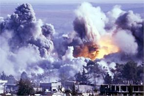 air raid in syria 17 dead