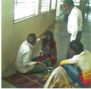 pregnant woman beaten by occultist in mp