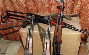rifle snatched in kashmir