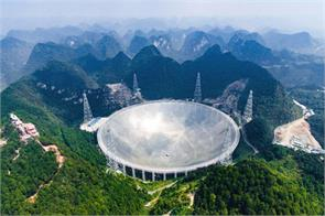 in china the world largest radio telescope was installed in the campaign