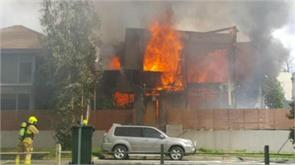 two men severely burned after suspicious house fire in sydney west