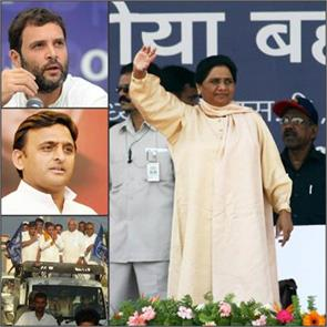 blow to the congress sp the bsp includes hundreds of minority
