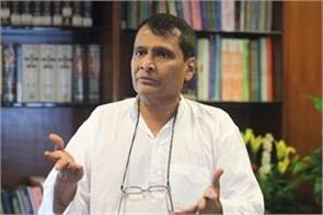 h 1b visa issue raised firmly with us government suresh prabhu
