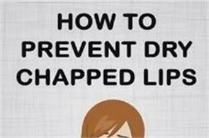 how to prevent dry chapped lips