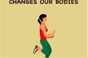 how sport changes our bodies