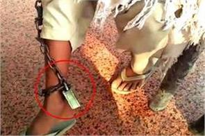 the clerics put chains in their feet and tortured them