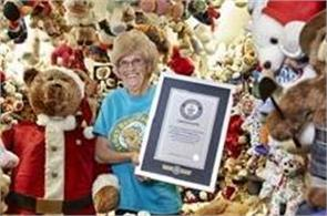 us woman sets world record for largest teddy bear collection