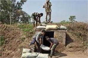 bunkers soon  for border people