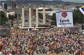 referendum in spain for catalonia