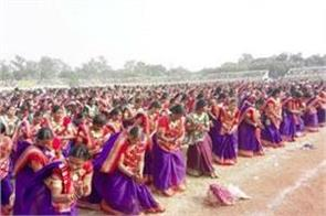 chhattisgarh  15000 women did suva dance and make world record